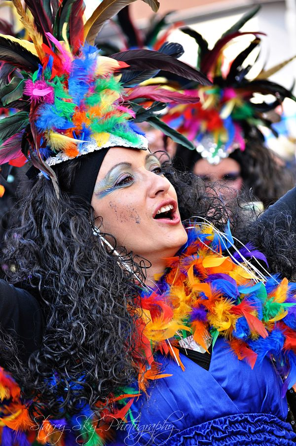 Fasching Feathers