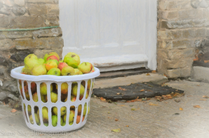 apples door