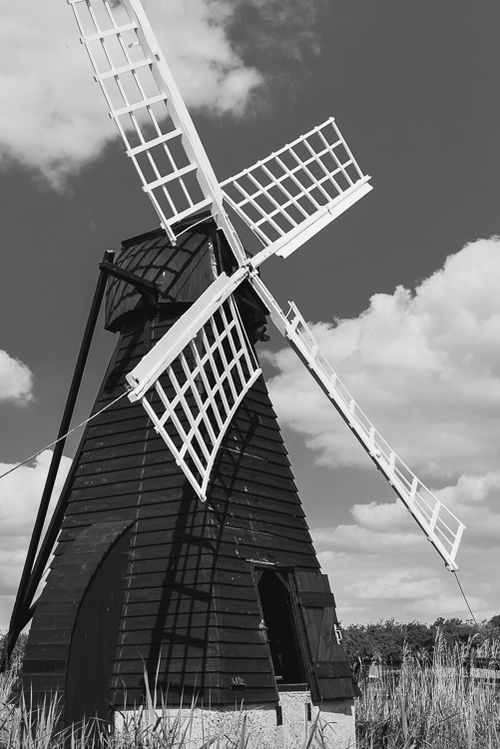 June  2014 wicken windmill bw web (1 of 1)