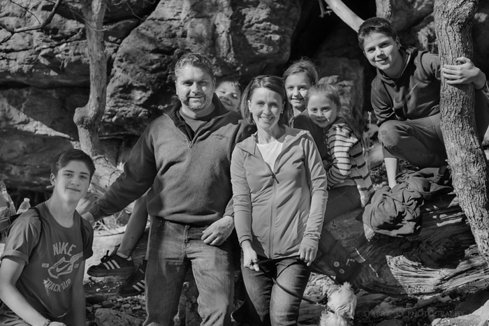 Mar 2015 family hike bw web
