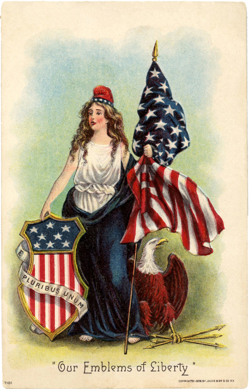 Vintage-Lady-Liberty-Clip-Art-GraphicsFairy